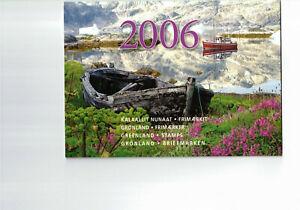 GRÖNLAND-- Jahresbriefmarkenheft 2006  postfrisch