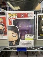 WWE UNDERTAKER GLOW IN THE DARK FUNKO POP #69 Amazon Exclusive