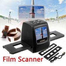 """Protable 35mm Negative Slide Film Scanner Digital Film Converter 2.4"""" TFT ScWFI"""