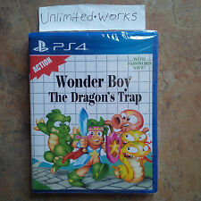 Wonder Boy: The Dragon's Trap PS4 Physical Edition PlayStation 4 New Limited Run