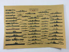 USA Military Battleship Poster Aircraft Carrier World War II Ship Vintage Print