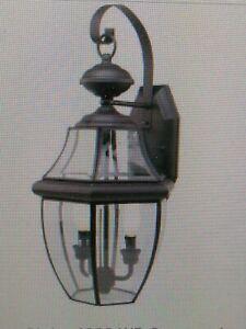 "Trans Globe  4320 WB  2-Light Coach Lantern, OUTDOOR WALL MOUNT, 20 1/2""H (#41C"