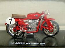 1952 MV AGUSTA 125 CORSA IN RED A DIE CAST METAL MODEL 1:32 SCALE BNIB