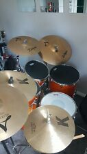 More details for yamaha stage custom drum kit with everything.