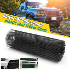 Universal Plastic Racing Honeycomb Mesh Vent for Car Front Bumper Grille 120x40