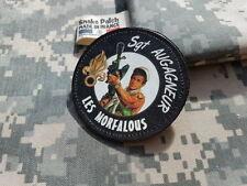 """Snake Patch - Sergent AUGAGNEUR """" LES MORFALOUS """" Belmondo SCRATCH légion FFL"""