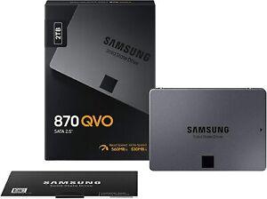 SAMSUNG 870 QVO 2TB  MZ-77Q2T0BW  SSD Interne SATA III