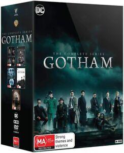 GOTHAM Complete Collection Series 1-5 DVD Region 4 (AUS) New & Sealed