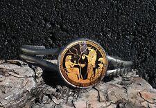 Athena Heracles Hercules Greek Mythology Art Image Cuff Bracelet