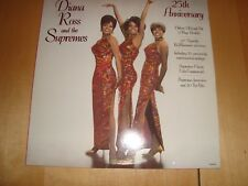 DIANA ROSS AND THE SUPREMES 25TH ANNIVERSARY DELUXE 3 RECORD SET & 12 PAGE BOOK