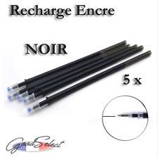 5 pcs/lot Recharge 13cm Stylo bille ENCRE NOIRE