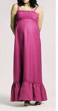 Cotton Sleeveless Maxi Maternity Dresses