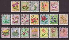 Ruanda-Urundi - SG 175/93 - u/m - 1953 - Flowers (19 stamps)