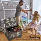 Music Box You are My Sunshine Wooden Music Box Crafts Hand Crank Child Gift USA
