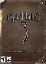 Gothic 3 w/ Manual PC DVD coliseum battles fantasy role-playing orcs invade game