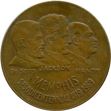 1969 Memphis Sesquicentennial  Memphis, Tennessee TN Bronze So Called Dollar