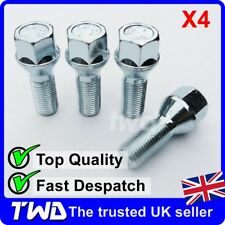 4x ALLOY WHEEL BOLTS FOR VOLVO XC70 V70 (2000-16) M14x1.5 STUD LUG NUT SET [Z10]