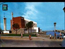 GANDIA (ESPAGNE) EGLISE animée au PORT en 1966