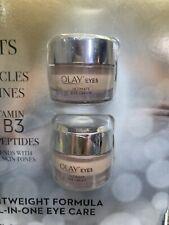Olay Eyes 2 Jars. 13 mL each. Ultimate Eye Cream.