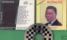 Nat King Cole - CD - A Portrait of - CD von 1989 - ! ! ! ! !