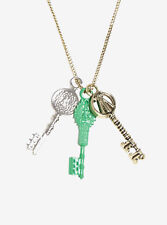 Ready Player One Movie Three Keys Charm Pendant Necklace Licensed NWT
