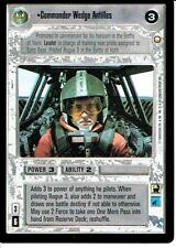 STAR WARS CCG SPECIAL EDITION LIGHT SIDE RARE COMMANDER WEDGE ANTILLES