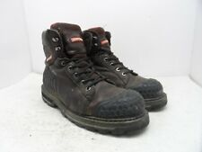 Craftsman Men's 6'' Max Steel Toe Work Boots 84983 Brown Size 9M