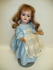 """12 3/4"""" Antique Gebruder Kuhnlenz 133-21 German Bisque Doll w/Compo BJ Body, As"""