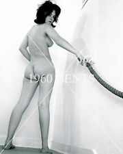 1960s NUDE 8X10 PHOTO BUSTY NICE ASS PINUP BARBARA LE MARGIE FROM ORIGINAL NEG-1