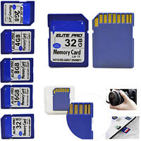 2GB 4GB 8GB 16GB 32GB 64GB SD SDHC Class4 Standard for Camera Flash Memory Card