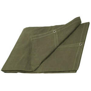 GRAINGER APPROVED 3ZRW8 Tarpaulin,Canvas,Cut Size 20x20Ft