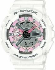 Casio G-SHOCK GMAS110MP-7A Women's Watch - Pink/White