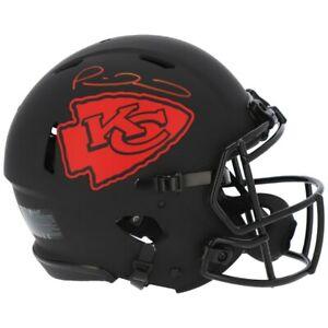 PATRICK MAHOMES Autographed Chiefs Eclipse Authentic Speed Helmet FANATICS