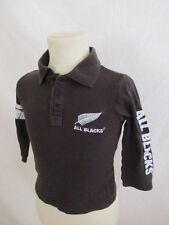 Polo All Blacks Marron Taille 4 ans à - 54%