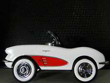 Pedal Car 1950s Corvette Chevy Vintage Sport Metal Collector >>>READ DESCRIPTION