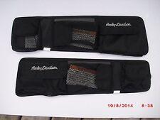 Harley Original touring road king flhrs custom saddlebag lid organizer 54005-04