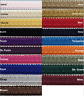 """1/2"""" Scroll Braid Gimp w/ Backing - 12 Continuous Yards - Many Color Options!"""