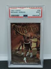 1997 Topps Finest Michael Jordan Finishers #39 PSA 9 - MINT