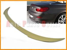 V Style Painted Trunk Spoiler Lip For BMW 2012+ F12 640i 650i M6 Convertible
