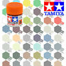 10ml TAMIYA ACRYLIC PAINTS - GLOSS, CLEAR, METALLIC COLOURS & THINNER
