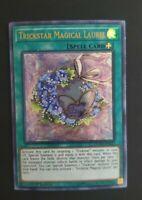 Trickstar Magical Laurel - DUPO-EN022 - Ultra Rare - 1st Edition Yu-Gi-Oh! NM
