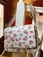 Original Cath Kids Kidston London Nappy Changing Bag with Mat  Floral -excellent