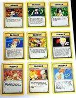 POKEMON GYM CHALLENGE HEROES SET /132 RARE - TRAINER / STADIUM POKEMON CARDS