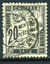 France 1882 Postage Due 20¢ Black VFU Z362