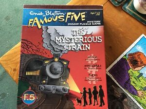 Enid Blyton Famous Five Mystery Jigsaw Puzzle Game - The Mysterious Train