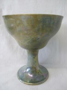 Vintage Ruskin Pottery Lustre Ware Goblet c1925(Restored)