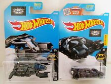 NEW 2016 Hot Wheels Batman The Dark Knight Batmobile & The Bat Diecast Toy Cars