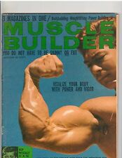 Muscle Builder Bodybuilding Fitness Magazine LARRY SCOTT Mr Olympia  12-66
