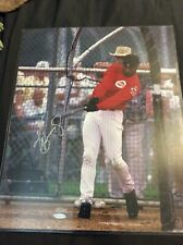 KEN GRIFFEY JR SIGNED 16x20 UPPER DECK UDA REDS MARINERS NUMBERED COA RARE