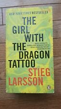 The Girl with the Dragon Tattoo by Stieg Larsson Paperback 2005